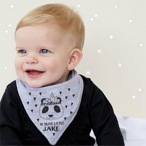 Be Brave Bandana Bib - christmas clothing & accessories