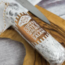Coffee, Date And Walnut Chocolate Salami