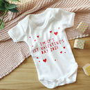 Personalised First Valentine's Day Babygrow