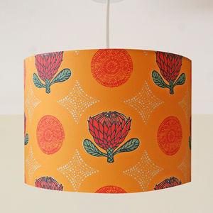 Exotic Protea Flower Handmade Ceiling Lampshade - lampshades