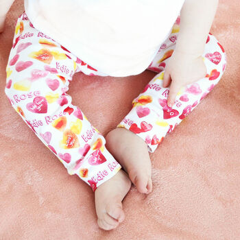 Personalised Love Children's Leggings