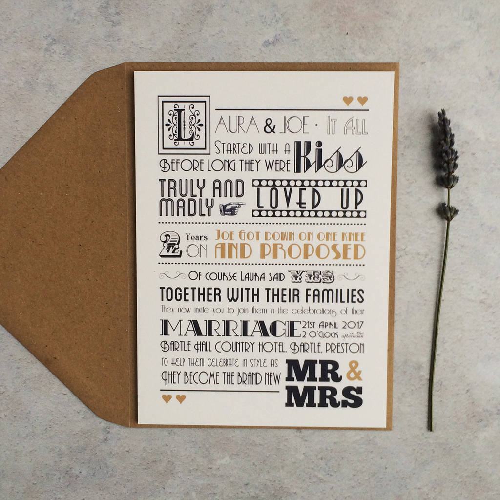 once upon a time wedding invitation by papergrace ...