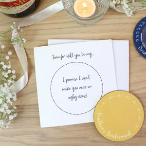 Will You Be My… Wedding Day Preparations Card