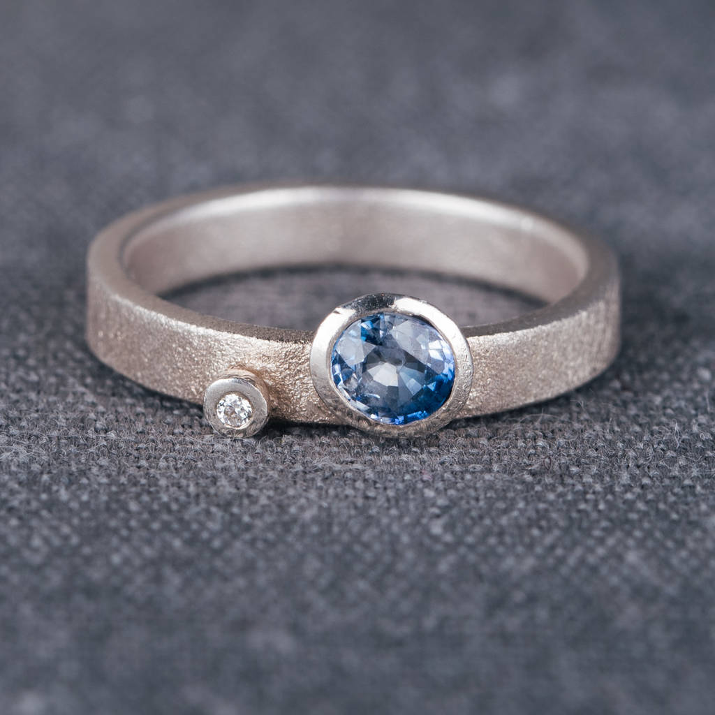 sapphire nature ring unique blue white green products s rings aurora inspired gold gray diamonds engagement