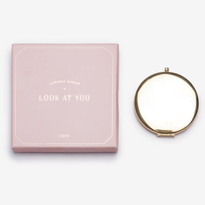 Ladies Compact Mirror - decorative accessories