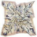 Aurelia | Butterfly, Moth And Cocoon Square Silk Scarf