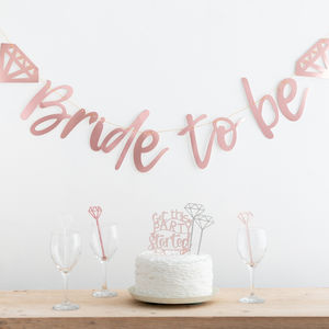 Bride To Be Get This Party Started Gift Set