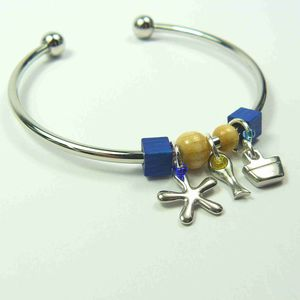 Sea Charm Bangle Bracelet - new in jewellery