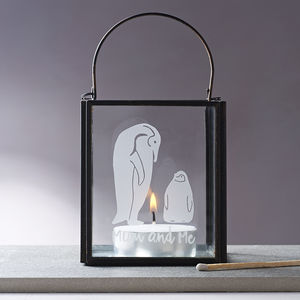 Mummy And Me Penguin Candle Holder - home sale