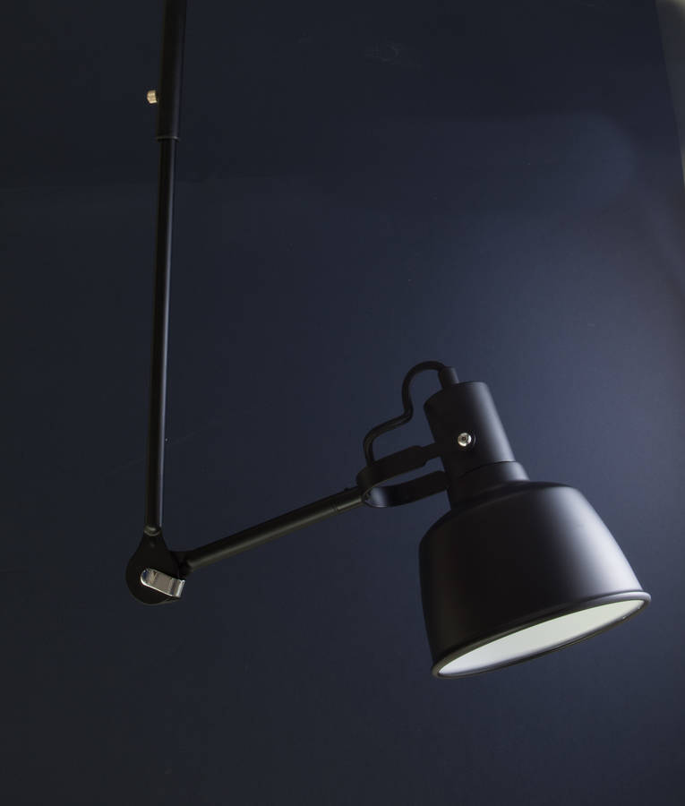 bardsey industrial style feature wall light by dowsing & reynolds notonthehighstreet.com
