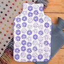 Hot Water Bottle Party Biscuit Print