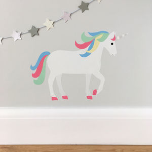 Unicorn Wall Sticker - bedroom