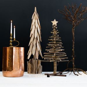 Wood And Iron Trees - christmas trees