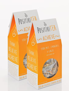 'Achieve' Solar Plexus Chakra Tea Two Packets - tea & infusions