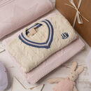 Baby Girl Cricket Jumper And Blanket Gift Set