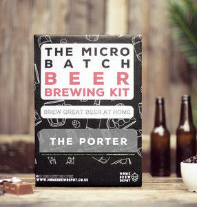 The Porter Micro Batch Beer Brewing Kit - make your own kits