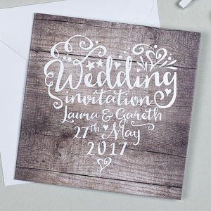 Heart And Soul Wedding Invitation - invitations