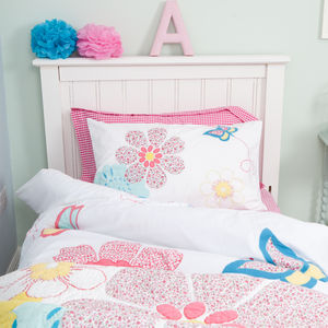 Daisy Floral Duvet Set - children's room