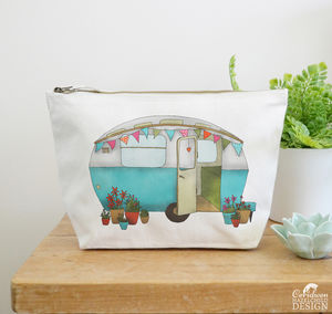Caravan Large Canvas Wash Bag - make-up & wash bags