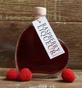 Raspberry Vodka Love Heart