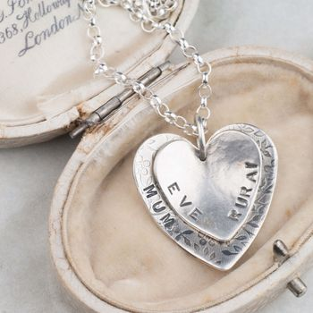 Personalised Name Heart Pendant