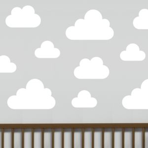 Cloud Wall Stickers - children's room accessories