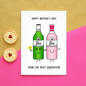 'Next Gineration' Funny Mother's Day Card