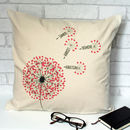 Dandelion Personalised Family Cushion Cover