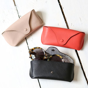 Soft Leather Glasses Or Sunglasses Case - new in fashion