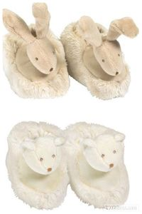 Baby Booties Basile Bear Or Lola Bunny - children's slippers