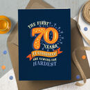 Funny 70th 'Childhood' Milestone Birthday Card