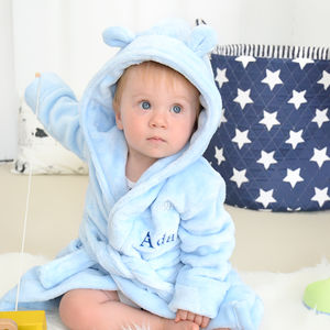 Personalised Fleece Robe For Boys - gifts for children