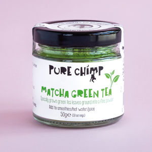 Matcha Tea 50g Glass Jar - teas, coffees & infusions