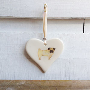 Pug Heart - home accessories