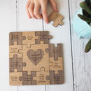 Personalised Reasons I Love You Wooden Jigsaw Puzzle