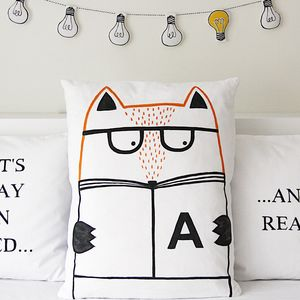 Reading Pillowcase - children's room
