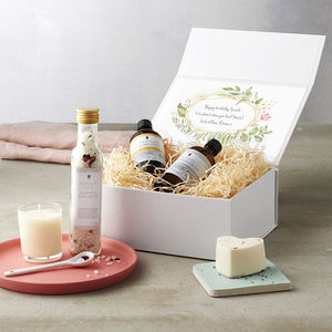 Create Your Own Birthday Personalised Organic Gift Box - 80th birthday gifts