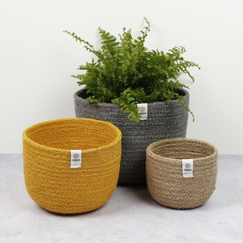 Tall Basket Set - Beach
