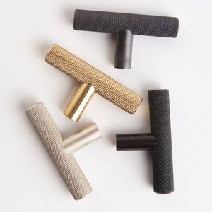 Skyscraper T Bar Knurled Handle