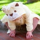 Personalised Lion Children's Bath Robe