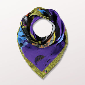The Age Of Turtles Statement Ladies Scarf