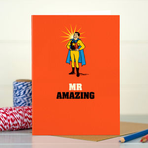 Dad 'Dad's Amazing' Card