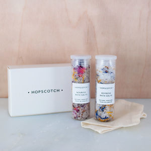 Natural Bath Salts Gift Set - bathroom