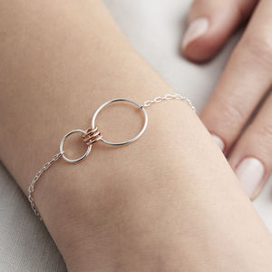 Infinity Family Link Bracelet - mother's day gifts