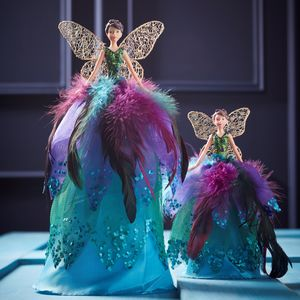Peacock Fairy Tree Topper - tree toppers