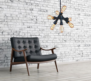 Industrial Seven Way Steampunk Pendant Lighting