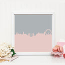 London Skyline Graphic Print