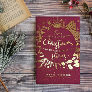 Personalised Christmas Eve Story Book - nostalgic christmas