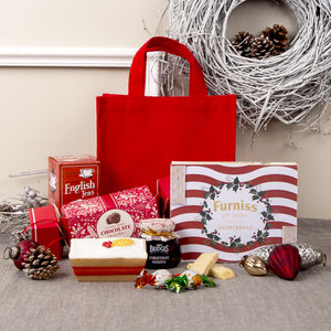 Festive Christmas Tea Lovers Hamper - cakes & cupcakes