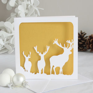 Stags Christmas Card - cards & wrap